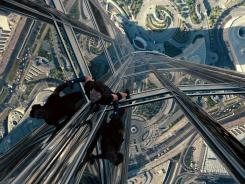 Tom Cruise is in top form reprising his role as agent Ethan Hunt in 'Mission: Impossible -- Ghost Protocol.'