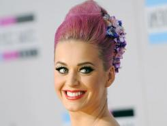Katy Perry, MTV's first artist of the year, had five singles from the same album reach No. 1.