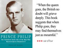 'Prince Philip' is a biography that skillfully recounts the early life of Queen Elizabeth's husband.