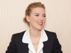 Wild thing: Scarlett Johansson stars opposite Matt Damon in 'We Bought a Zoo.'