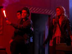 Max Minghella, left, Emile Hirsch, Olivia Thirlby and Rachael Taylor are heading for the multiplex on Christmas Day.