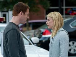 Nick (Damien Lewis) and Carrie (Claire Danes) are at a crossroads in the Showtime drama.