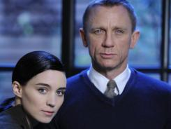 Rooney Mara and Daniel Craig knew each other only in passing before being cast in the the film version of 'The Girl With the Dragon Tattoo.'