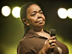 Internationally renowned Cape Verdean folk singer Cesaria Evora died Saturday. She was 70.