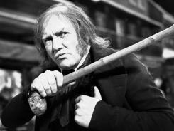 No humbug: Albert Finney as Scrooge.