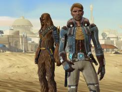 Players can choose from eight different character classes, including the Han Solo-like smuggler the scoundrel.