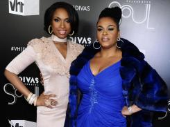 Jennifer Hudson, left, and Jill Scott performed at the VH1 Divas Celebrates Soul event on Sunday in New York.
