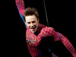 Hanging by a thread: 'Spider-Man: Turn Off The Dark' and its star Reeve Carney had a rough year.
