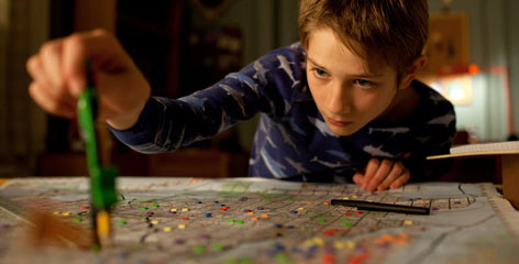 Thomas Horn as Oskar Schell in 'Extremely Loud & Incredibly Close.' Opens Sunday nationwide.
