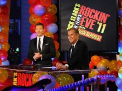 Well-oiled machine: Last year was Ryan Seacrest's sixth year hosting with Dick Clark. The year before he started, 2004, Regis Philbin filled in after Clark had a stroke.