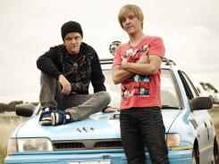 Really 'Angry': Chris Lilley pulls double duty in the 'Boys' pilot episode.