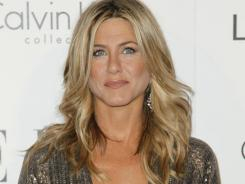 Jennifer Aniston's personal life, namely her relationship with Justin Theroux, made her the hottest actress of the year.