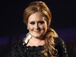 2011 was Adele's year: The British singer's '21' is last year's best-selling album with 5.82 million copies sold.