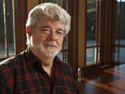 George Lucas at the Lucasfilm Big Rock Ranch in Nicasio, Calif.