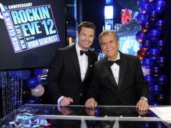 ABC's 'New Year's Rockin' Eve' with Dick Clark and Ryan Seacrest scored its highest ratings in 12 years.