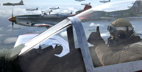 Musician Ne-Yo takes part in an aerial dogfight that George Lucas couldn't wait to bring to the screen.