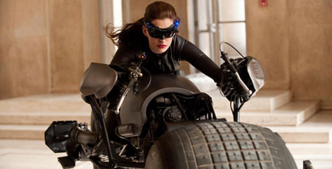 Anne Hathaway stars as Catwoman in the conclusion of Christopher Nolan's Batman trilogy, 'The Dark Knight Rises.'