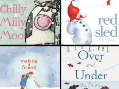 Do your kids need a break from the snow? Get warm with 'Chilly Milly Moo,' 'Red Sled,' 'Making a Friend' and 'Over and Under the Snow.'
