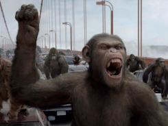 'Rise of the Planet of the Apes,' which relied on actorAndy Serkis for its motion capture, is a finalist for the visual effects Academy Award.