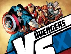 Captain America and his crew face off against their fellow heroes in the fight-filled 'Avengers vs. X-Men: Versus' series.