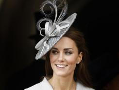 Hat's our girl: Catherine, Duchess of Cambridge, has made hats fashionable again.