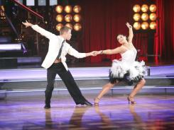 Ricki Lake and Derek Hough compete on 'Dancing With the Stars,' a show Richard Hopkins developed and produced in Britain before bringing the format to America.