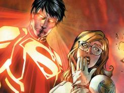 With the help of Caitlin Fairchild, Superboy continues to find out about the evil organization N.O.W.H.E.R.E. in 'Superboy.'