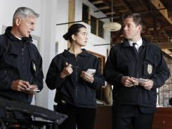 Ziva (Cote de Pablo) has a lot on her mind -- and not just the murder case she's investigating, on 'NCIS.'