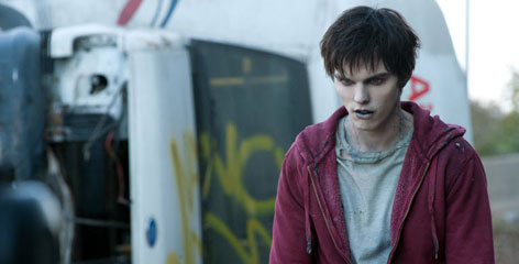 A heartthrob without a heartbeat: Nicholas Hoult plays a zombie in search of love (and brains) in 'Warm Bodies.'