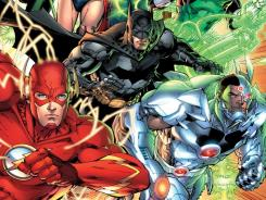 DC Comics' 'Justice League' No. 1 was the best-selling comic book of 2011.