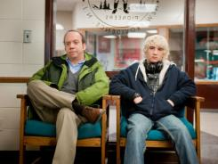 'Win Win,' starring Paul Giamatti, left, and Alex Shaffer at least deserves a chance to win, says our critic Claudia Puig.