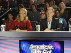 '30 Rock' returns: Jenna's (Jane Krakowski) head has grown to bigger proportions than usual thanks to her role as a breakout judge on NBC's newest talent show.