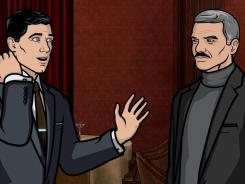 Burt Reynolds,  appearing as himself, makes Sterling crazy on 'Archer.'