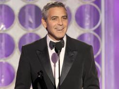 The Hollywood Foreign Press might give George Clooney prizes just to hear his acceptance speeches. And we're OK with that.