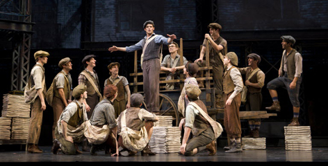 """Even though it's a Disney production, 'Newsies' has a grass-roots feel,"" says New York Drama Critics Circle president Adam Feldman about the new musical that will begin its run on Broadway this spring."