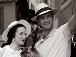 Andrea Riseborough and James D'Arcy portray Wallis Simpson and Edward VIII in 'W.E.,' a biopic directed by Madonna.