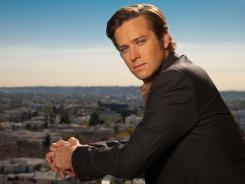 Good job: Armie Hammer's work in 'J. Edgar' earned him a nomination for best supporting actor at the Screen Actors Guild Awards.