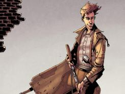 The boy who wouldn't grow up gets a World War II-era spin with 'Peter Panzerfaust.'
