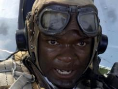 "All-American hero: David Oyelowo stars as ace pilot Joe ""Lightning"" Little in 'Red Tails.'"