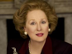 Meryl Streep's best-actress nod for 'The Iron Lady' is her 17th overall, 14th in the category.