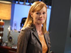 Wednesday is Marg Helgenberger's last episode of 'CSI.'