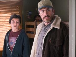 Demian Bichir, right, scored an unexpected best-actor nod for his role in 'A Better Life,' in which he co-starred with Jose Julian.