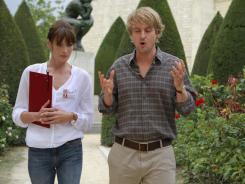 Carla Bruni and Owen Wilson spend a 'Midnight in Paris.'