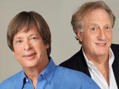 "Dave Barry, left, and Alan Zweibel wrote alternate chapters of their novel. ""We tried to make it as difficult for the other guy as possible,"" Barry says.."