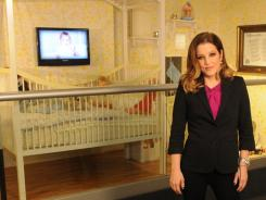 Lisa Marie Presley is at Graceland in Memphis for the opening today of 'Elvis Through His Daughter's Eyes.'