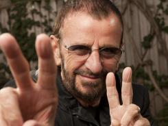 Signature sign:  At 71, Ringo Starr is still making music, still touring and still promoting the ideals of the 1960s.
