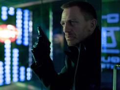 Daniel Craig as James Bond in the first official photo released of 'Skyfall,' in theaters Nov. 9.