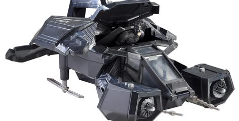 A first look at the Bat, the new flying vehicle from The Dark Knight Rises that Mattel is releasing in toy form.