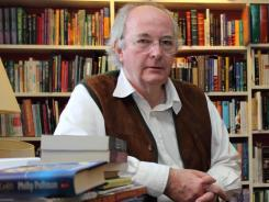 Author Philip Pullman says that when moving into a new house eight years ago, &quot;we thought that at last we'd have room for all our books. No chance!&quot;