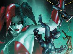 Harley Quinn is on the loose and searching for the Joker in the latest issue of Suicide Squad out next week.